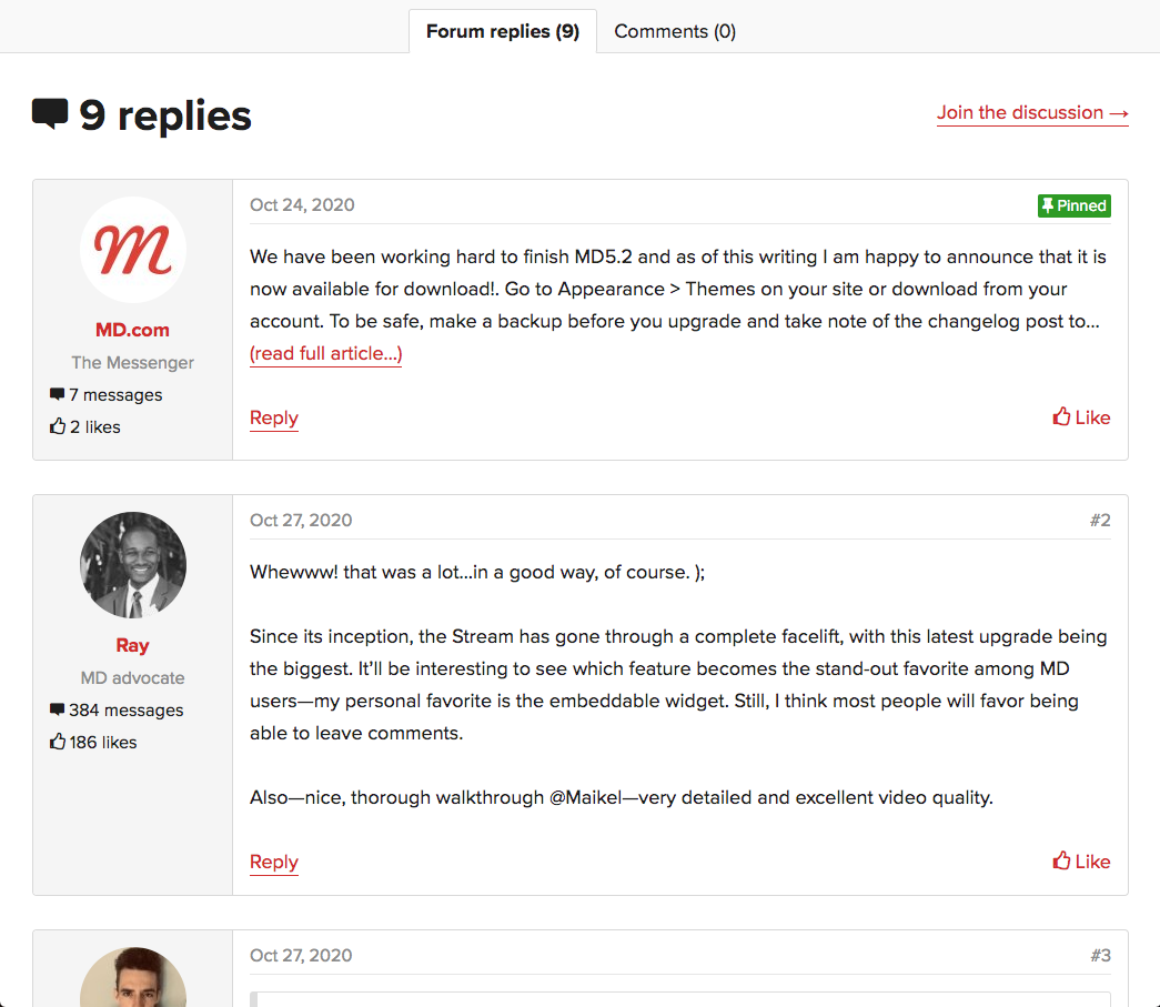 Use forum replies as blog comments with XFtoWP